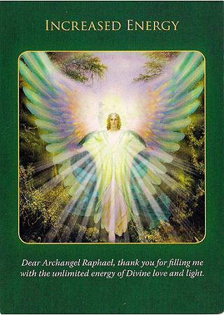 Archangel Raphael Oracle Cards by Doreen Virtue