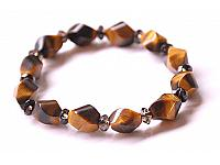 Tiger Eye Smoky Quartz Bracelet
