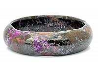 Natural Sugilite Bangle Bracelet