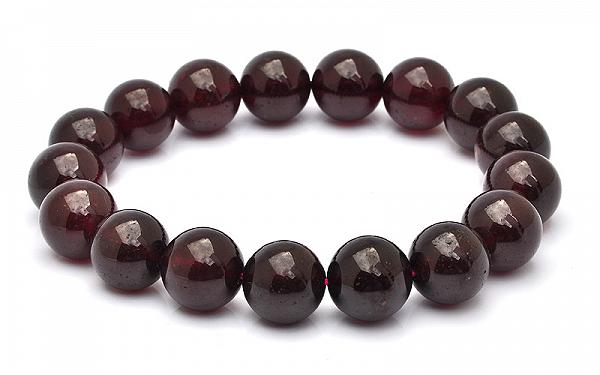 AAA Genuine 13mm Hessonite Garnet Bracelet - Passion of Life