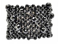 Black Agate Faceted Bracelet